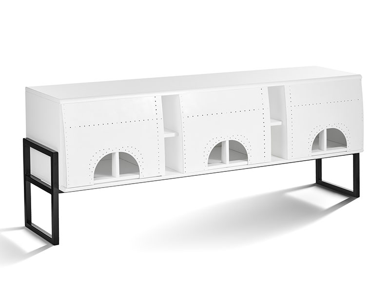 Realisation banniere buffet fuselage calipso